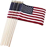 Set of 12 Bulk American Flags: 12