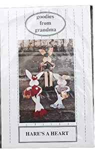 Goodies from Grandma Doll Pattern Hare's A Heart Size One