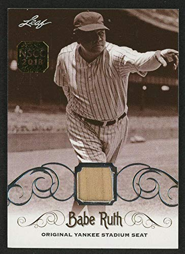 Babe Ruth 2016 Leaf #ys-17 Original Yankee Stadium Game Used Seat Trading Card - Baseball Game Used Cards ()