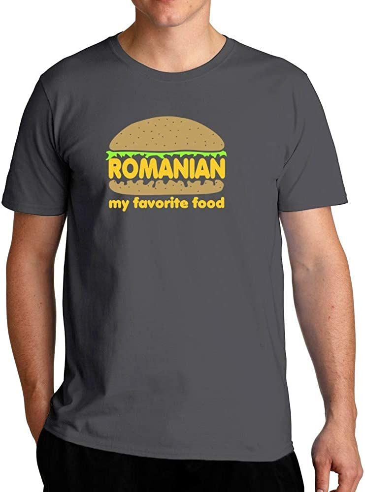 Eddany Romanian My Favorite Food T-Shirt