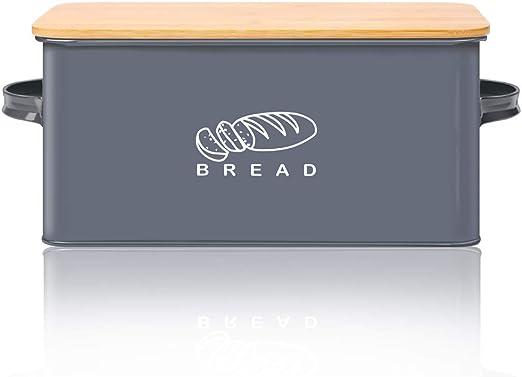 Amazon.com: Caja de pan para cocina, GA Homefavor panera ...