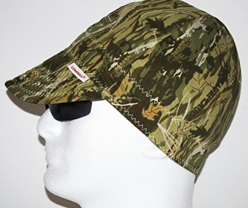 Round Crown Caps 2000CE Camo Universal Fit Comeaux (Camouflage Crown Cap)
