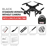 AKDSteel Drone 4k RC Quadcopter Dron with HD 1080P WiFi Camera Video Highly Stable Rc Helicopter F68 Drones Black Without Camera