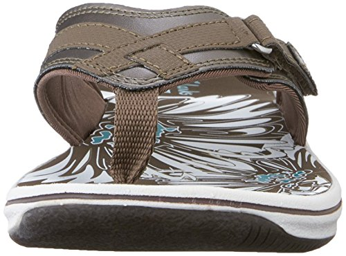 Clarks Womens Sea Flip-flop In Peltro