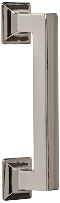Hickory Hardware P3011 14 Studio Collection Cabinet Pull, 3.78 Inch, Bright  Nickel
