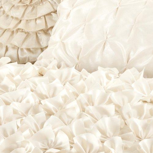 Lush Decor Lucia 40er Set Tröster California King Schokolade Cool Lush Decor Pillows