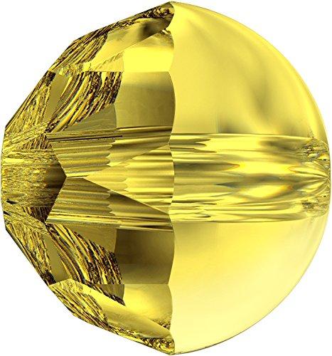 Cristalli a Swarovski 5014115 Perle 5026 MM 10,0 Light Topaz, 96 Pezzi