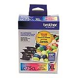 Brother International LC753PKS High Yield XL 3 Pack