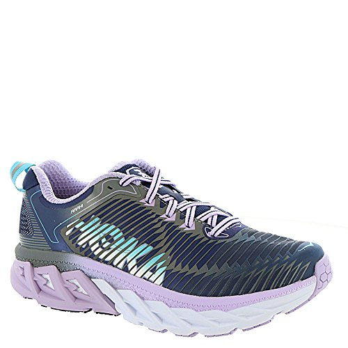 8f3a810313f21 Hoka One One Womens Arahi Medieval Blue Lavender Running Shoe - 6.5 M