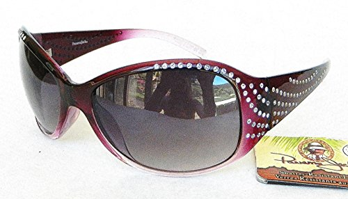 Panama Jack Womens Rhinestone Accent Sunglasses (1406)- Bonus Cleaning - Sunglasses Polarized Jack Panama