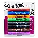 Sharpie Flip Chart Markers, Bullet Tip, Assorted Colors, 8-Count