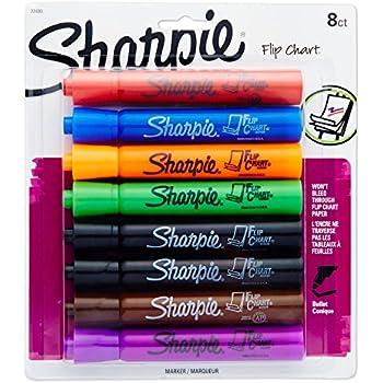 Amazon com sharpie 22480pp flip chart markers bullet tip