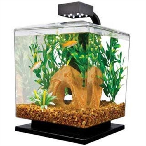 046798291374 - Tetra 29137 Water Wonder Aquarium Kit, Black, 1.5 Gallons carousel main 0