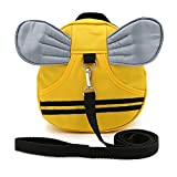 Hipiwe Baby Walking Safety Harness Reins Kid Toddler Strap Backpack Child Safety Harness Assistant with Leash Bee Backpack