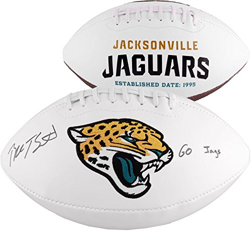 Blake Bortles Jacksonville Jaguars Autographed White Panel Football With Go Jags Inscription - Fanatics Authentic Certified