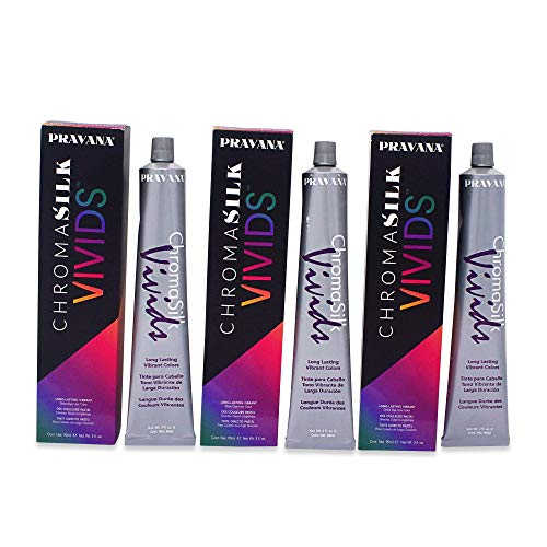 Pravana Chromosilk Vivids Hair Color (3 Pack) (Vivid Violet)