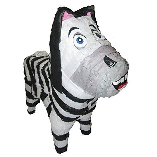 (Zebra Pinata for Zoo or Safari Party, Game, Decoration and Photo)