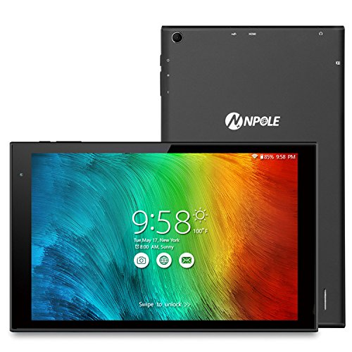 NPOLE Tablet 10.1 Inch Android 6.0 Tablet 16GB ROM 2GB RAM H
