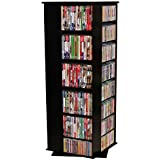 Venture Horizon Revolving Media Tower 900 Black & Oak