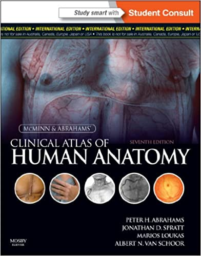 McMinn and Abrahams\' Clinical Atlas of Human Anatomy: 9780723436980 ...