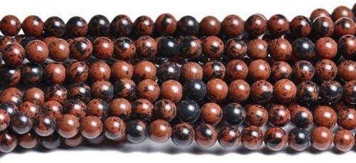 Dunkelgr/ün Serpentin 8mm Rund Perlen GS8280-3 Charming Beads Strang 40