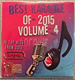 Best Of Karaoke 2015 Volume 4 CD+Graphics CDG 18 Pop & Country Tracks Shawn Mendes Drake X-Ambassadors Taylor Swift Elle King John Legend Meghan Trainor Sam Hunt Luke Bryan Zac Brown Band