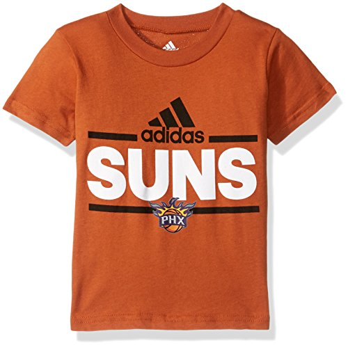 NBA Toddler Phoenix Suns Mini Dassler Short Sleeve Tee-Texas Orange-3T