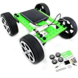 Foshin New Kids Children Solar Energy DIY Faster Hollow Cup Motor Car Push & Pull Toys