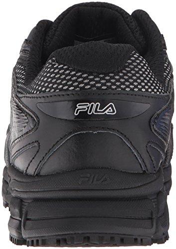Fila-Mens-Memory-Reckoning-7-Work-Slip-Resistant-Steel-Toe-Running-Shoe-BlackBlackMetallic-Silver-11-M-US