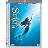 Blu-ray 3D A Pequena Sereia [ Disney The Little Mermaid ] [ Audio and Subtitles in English + French + Spanish + Portuguese ] [Blu-ray 3D + Blu-ray] with SlipCover