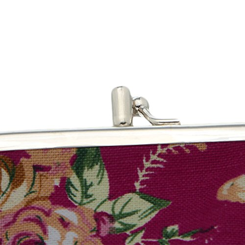 Wallet model And Model Woman Elegant Pattern Change Floral sol Purse V xvq8Fwtzz