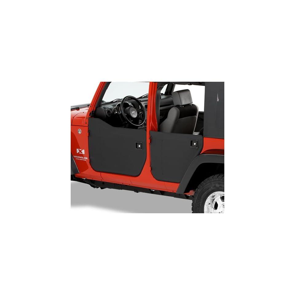 BesTop 53040 35 Jeep Wrangler Half Doors   JK   Front Doors