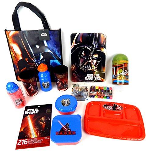 School Supply Star Wars The Last Jedi Force Awakens Action Figure Bundle Gift Set
