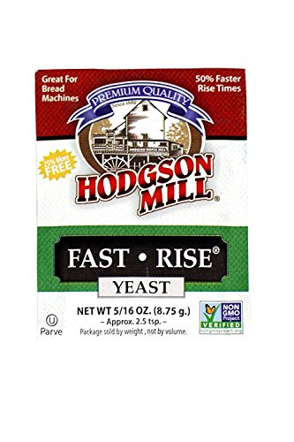 Hodgson Mill Fast-Rise Yeast, 1-count (Pack of (Best Hodgson Mill Yeasts)