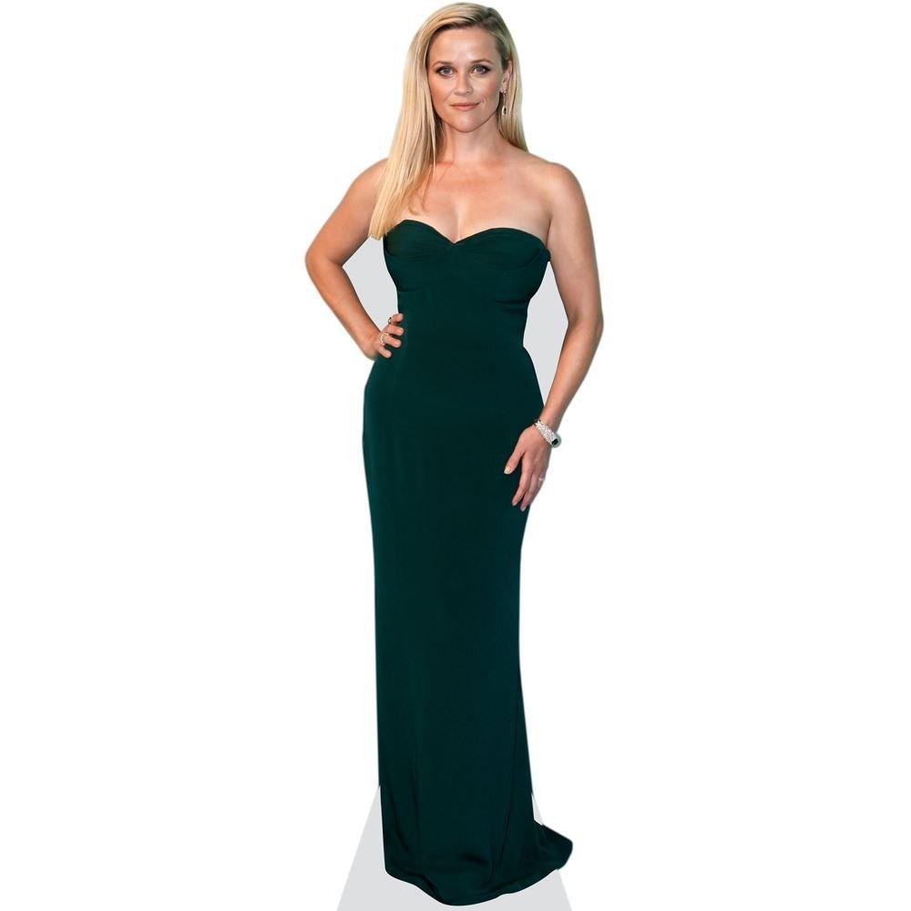 Celebrity Cutouts Reese Witherspoon (schwarz Dress) Pappaufsteller lebensgross