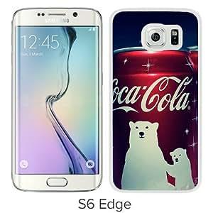 New Unique And Popular Samsung Galaxy S6 Edge Case Designed With Coca Cola Winter Edition Android Wallpaper White Samsung S6 Edge Cover