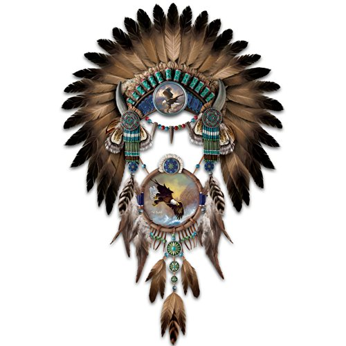Ted Blaylock Eagle Art Headdress And Dre - Native American Wall Decor Shopping Results