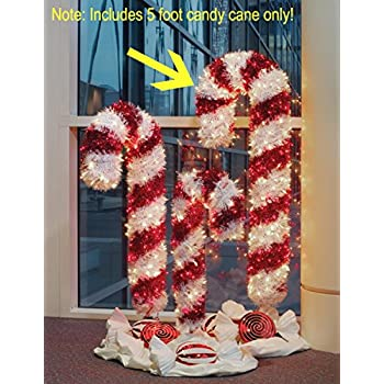 Outdoor Christmas Candy Cane Decorations