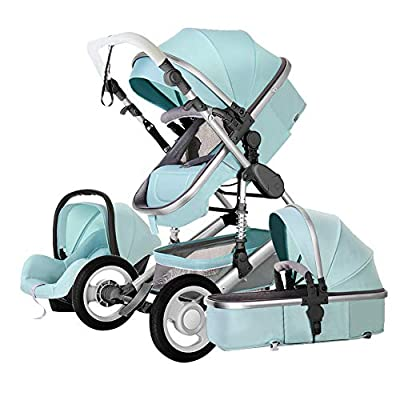 Echaprey Luxurious Anti-Shock Infant Baby Stroller Foldable Anti-Shock Newborn Stroller Bassinet with Safety Seat by Echaprey that we recomend personally.