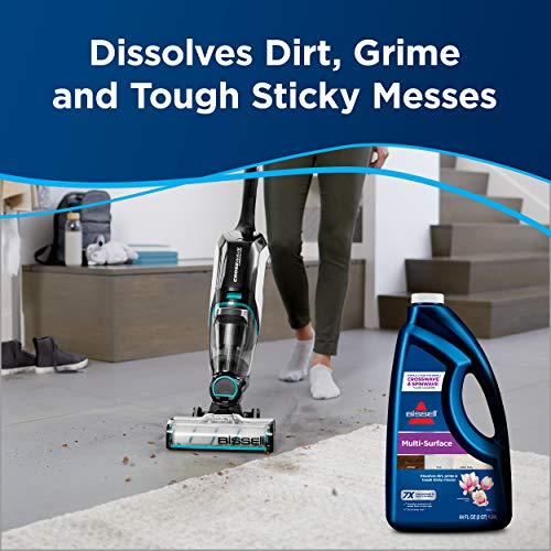 BISSELL, 17891 MultiSurface Floor Cleaning Formula-Crosswave and Spinwave (64 oz), 64 Fl Oz