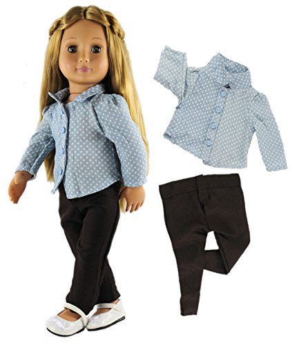 HongShun Doll Clothes for 18 American Girl Fashion Casual Wear Clothes