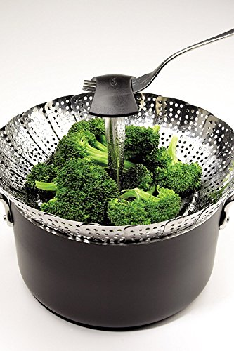 OXO Good Grips Stainless Steel Steamer with Extendable Handle by OXO (Image #6)