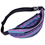 Women's Fanny Pack,Decorative Pattern Waist Bag Gym Fitness Chest Package by-NEWONESUN