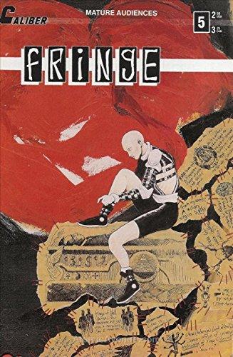 FRINGE #5, NM, Caliber Press, 1990, Paul Tobin, ShockTrauma,more Indy's in store