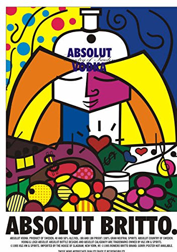 NT For Absolut Vodka Absolut Britto ()
