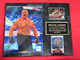 Brock Lesnar WWE 2 Card Collector Plaque w/8x10