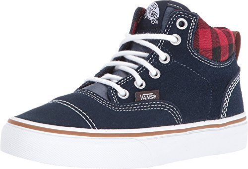 Vans Youth Era Hi (MTE) Sneakers Navy/Plaid Boys - Vans Navy Era