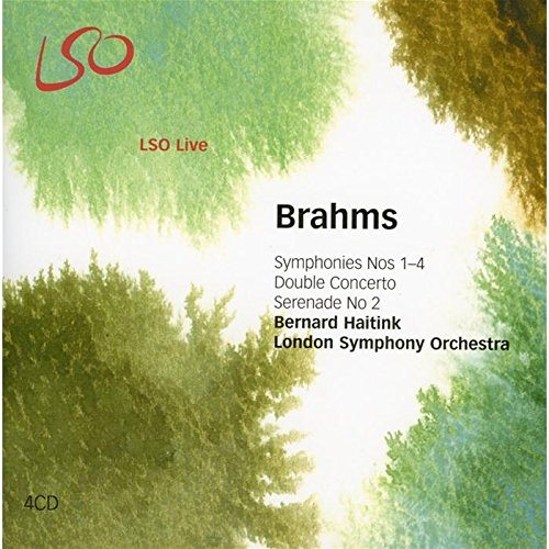 Brahms: Symphonies Nos.1-4, Double Concerto, Tragic Overture, Serenade No.2 by LSO LIVE.