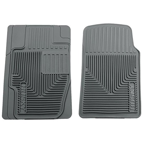 Husky Heavy Duty Floor Mats, 2pc Front Mats, Color: Gray 51112