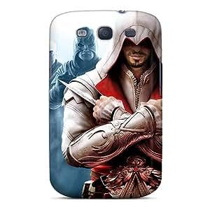 Samsung Galaxy S3 YQi18191kdJO Support Personal Customs Vivid Assassins Creed Brotherhood Pattern Shock Absorption Hard Phone Cases -DannyLCHEUNG